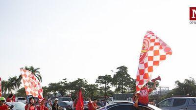 Chùm ảnh: Tiếp lửa tuyển Việt Nam trước giờ G