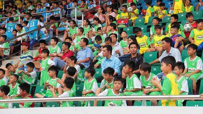 U.13 Học viện TP.HCM-Lyon thắng đậm đội bóng trẻ của Hàn Quốc