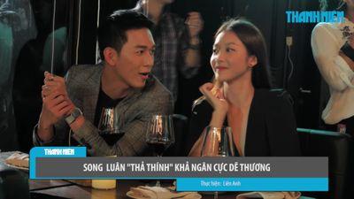 Bị bắt gặp ăn tối cùng nhau, Song Luân 'thả thính' Khả Ngân cực dễ thương