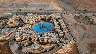 Du lịch cảm giác mạnh: Ngắm phong cảnh Jordan từ trực thăng mini