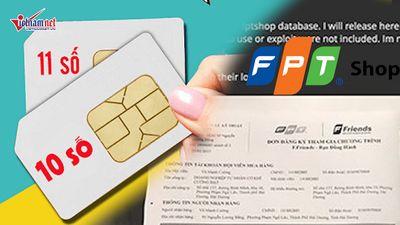 Hacker tung cơ sở dữ liệu của FPT Shop, cắt liên lạc thuê bao 11 số