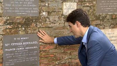 Ấn tượng với khoảnh khắc tìm về cội nguồn của thủ tướng Trudeau