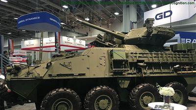 Quân đội Mỹ lộ xe thiết giáp Stryker thế hệ mới kỹ thuật số