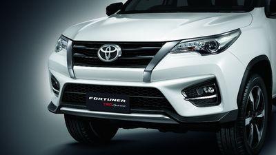 Toyota Fortuner TRD Sportivo ra mắt tại Thái Lan có gì khác biệt?