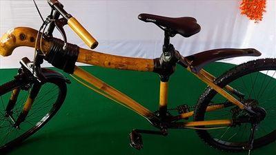 Đột kích xưởng chế tạo xe đạp tre 'made in Viet Nam' hút khách nước ngoài