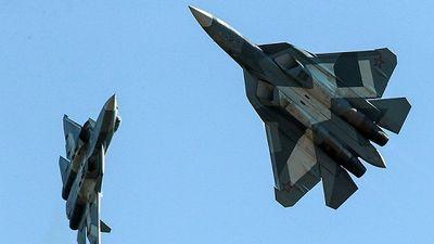Nga công bố video Su-57 bay trên không phận Syria