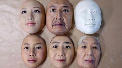 Hé lộ mục đích thực của 'mặt nạ da người'