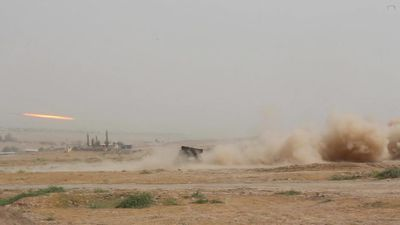 Quân đội Nga 'rầm rập' khai hỏa tại căn cứ lớn nhất ở nước ngoài