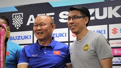 HLV Park và Tan Cheng Hoe nói gì trước chung kết lượt đi AFF Cup?