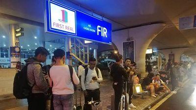 Hành khách mắc kẹt tại sân bay Đà Nẵng do đường ngập nước