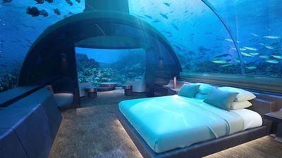 Clip: Bất ngờ trước vẻ đẹp của khách sạn dưới nước đầu tiên trên thế giới
