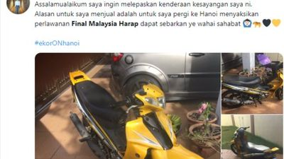 CĐV Malaysia bán tháo đồ đạc kiếm tiền sang Việt Nam xem chung kết AFF Cup