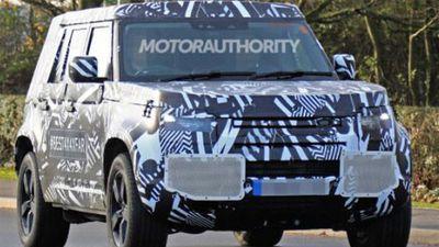 Lộ ảnh chi tiết Land Rover Defender 2021 bản 3 cửa