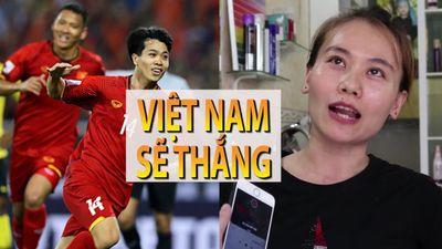 Các bà nội trợ tiếp lửa tinh thần cho đội tuyển Việt Nam