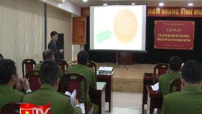 Tập huấn nghiệp vụ cho cán bộ tuyên truyền về PCCC và cứu nạn, cứu hộ