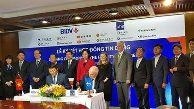 ADB cấp khoản vay 300 triệu USD cho BIDV không cần bảo lãnh