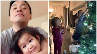 Lam Trường một lần nữa đăng ảnh đập tan tin đồn vợ chồng lục đục