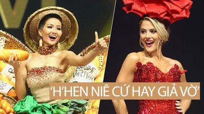 Hoa hậu Mỹ 'Hồng Hạ' đánh giá H'Hen Niê: 'Cô ấy sang chảnh và hay giả vờ…'