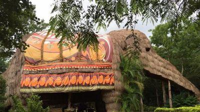 Khu nghỉ dưỡng mang hình dáng voi khổng lồ