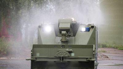 Khám phá sức mạnh robot đa năng Uran-14 của Quân đội Nga