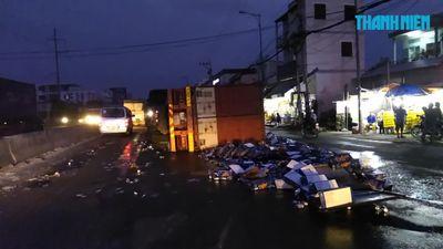 Tái diễn nạn 'hôi bia' sau tai nạn giao thông trên Quốc lộ 1A