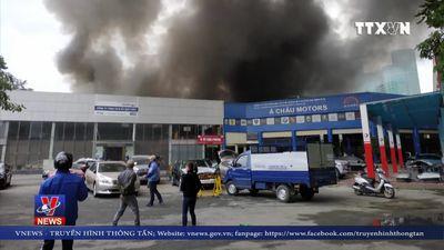 Cháy tại Nam Từ Liêm, Hà Nội