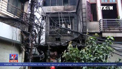 Cháy lớn tại quán karaoke trên đường Nguyên Khiết, Hà Nội