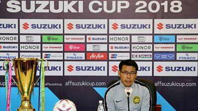 HLV Malaysia tuyên bố dùng đội hình mạnh nhất đấu tuyển Việt Nam