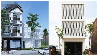 Mê mẩn 10 mẫu nhà phố 3 tầng mặt tiền 5m