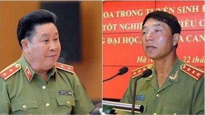 Khởi tố 2 nguyên Thứ trưởng Bộ Công an Trần Việt Tân, Bùi Văn Thành