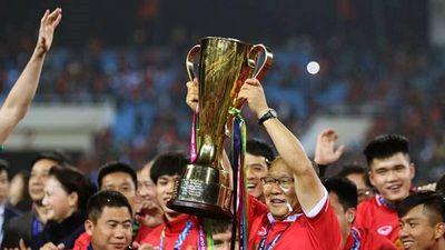 Giây phút đăng quang ngôi vô địch AFF Cup 2018 của Việt Nam