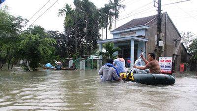 Mưa lũ ở Quảng Nam gây thiệt hại 126 tỉ đồng