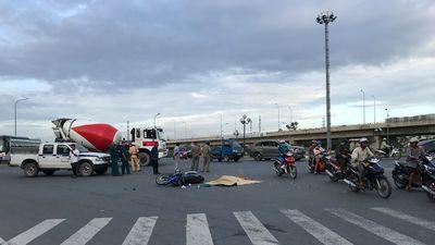 Tử vong tại chỗ dưới bánh xe bồn ngay vòng xoay Phú Hữu