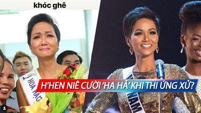 CLIP: Hé lộ lý do 'động trời' khiến H'Hen Niê cười 'ha hả' khi thi ứng xử lọt Top 20 Miss Universe