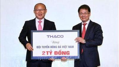 HLV Park Hang-seo dành 100.000 USD tiền thưởng làm từ thiện