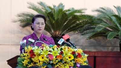 Chủ tịch QH Nguyễn Thị Kim Ngân: Đà Nẵng phải là 'thành phố thông minh'