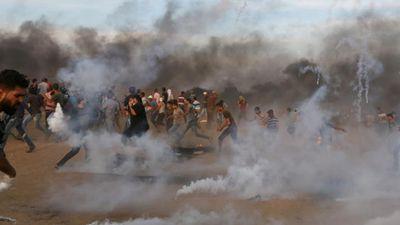 Hình ảnh đụng độ dữ dội Israel-Palestine tại Gaza năm 2018