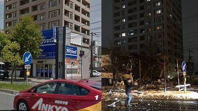 Nổ lớn san phẳng nhà hàng Nhật Bản, 42 người bị thương