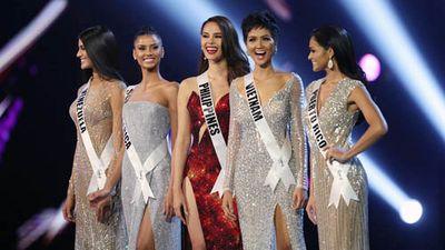 Đại diện Việt Nam là H'Hen Niê tiến thẳng vào Top 5 Hoa hậu Hoàn vũ 2018