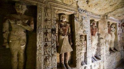 Phát hiện lăng mộ 4400 năm ở Ai Cập còn nguyên vẹn như mới được xây dựng