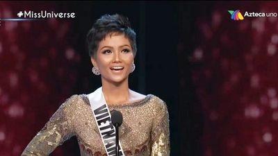H'hen Niê trượt top 3 Miss Universe do phiên dịch?