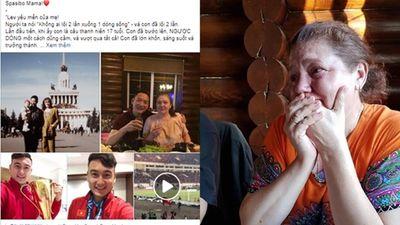 Khóc đến sưng mắt, mẹ Văn Lâm gửi tâm thư đầy xúc động gửi CĐV Việt Nam