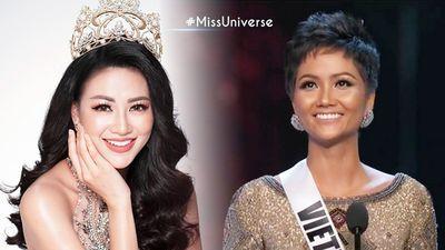 Phương Khánh ủng hộ H'Hen Niê trên chặng đường cuối Miss Universe 2018