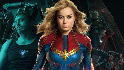 'Avengers 4: Endgame': Captain Marvel sẽ là người cứu Tony Stark khỏi mắc kẹt giữa không gian?