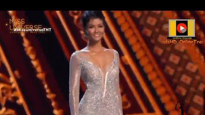 Clip: H'Hen Niê tự tin thể hiện các phần thi chung kết Miss Universe