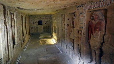 Bên trong ngôi mộ 4.400 tuổi vừa được phát hiện ở Ai Cập