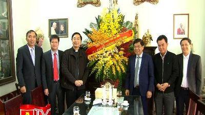 CATP Hà Nội chúc mừng Giáng sinh các cơ sở tôn giáo