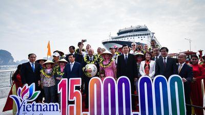 Lễ đón vị khách thứ 15 triệu của Quảng Ninh