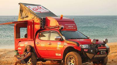 Mitsubishi Triton độ nhà di động chỉ 300 triệu tại Việt Nam