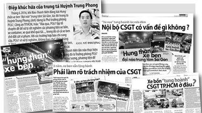 'Hung thần' vẫn ngang nhiên tung hoành giữa phố: Trách nhiệm chính của CSGT